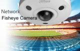 Camera van Fisheye van het Netwerk van de Oplossing van kabeltelevisie Vandal-Proof (ipc-EBW8600)