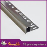 Garniture en aluminium de tuile de coin carré pour des matériaux de construction