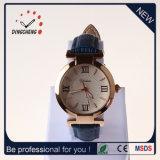 Horloge het van uitstekende kwaliteit van het Kwarts van het Horloge van de Dames van de Armband van het Leer van het Polshorloge (gelijkstroom-1372)