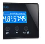 타이머가있는 LCD 디지털 컨트롤러, 사우나 룸 풋 SPA 용