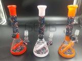 Tubulação de água de fumo de vidro colorida americana da chegada nova para o tabaco