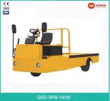 Het 3-wiel van de Verkoop van 3.0 Ton 48V de Hete Elektrische Tractor van het Platform