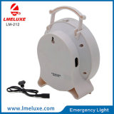 luz Emergency recargable del vector de 6W LED