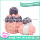 La fantaisie tricotée colorée personnalisée de crochet recouvre les chapeaux en gros
