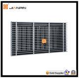 Örtlich festgelegter/entfernbarer Kern HVAC-lineares Stab-Gitter für Ventilations-Zusatzgerät