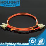 Cable de puente de la fibra LC a la naranja 3.0m m a dos caras del LC 50m m
