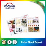 Beaux-arts décoratifs Système d'impression complet Catalogue de couleurs