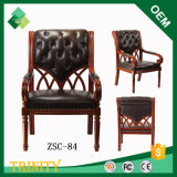 Klimabuche-elegante Art-preiswerter Luxuxkönig Throne Chair für Standardschlafzimmer