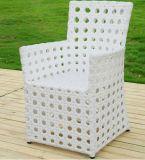 屋外の食事の椅子Destの一定のPEの藤の家具5部分の