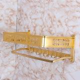 Helles goldenes Tuch-Aluminiumregal des neuen Platz-Bt099