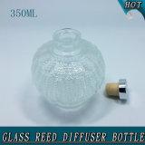 runde freie leere Glasreedflasche des diffuser- (Zerstäuber)350ml