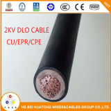 2kv Tinned Cu/Epr/CPE 4/0 Dlo Cable met UL Listed