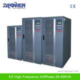 UPS in linea industriale di doppia conversione dell'input 400V e dell'uscita 80kVA
