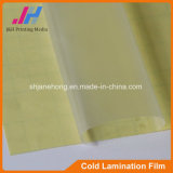 Brillant PVC froid Laminage Film