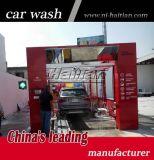 Автоматическая машина мытья автомобиля тоннеля с 9 щетками и сушильщиками 4