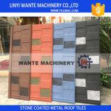 Mattonelle di tetto rivestite del metallo del materiale da costruzione della pietra variopinta durevole del tetto