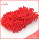 폴리에스테 Microfiber 세차 셔닐 실 갯솜
