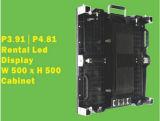 Visualización de LED de alquiler de la caída de interior entera de las ventas P5.95