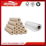 (24 '' *100m) papier de transfert à transfert élevé sec rapide anticourbure de sublimation de teinture de taux du roulis 100GSM