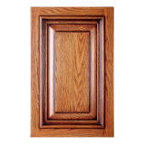 Nuevas puertas de madera maciza del armario de la cocina (GSP5-002)