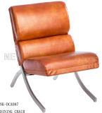 Moderne bequeme Edelstahl-Polsterung niedrig unterstützen Freizeit-Stuhl (NK-DCA087)