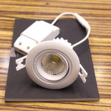 "Rotatable COB Dimmable LED 3 ""4.5W 5W 7W Down Isqueiro para Comercial"