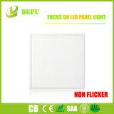 Luz del panel libre del parpadeo LED del precio de fábrica 600X600 PF>0.95