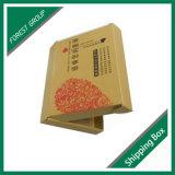 O costume imprimiu a caixa de transporte de papel recicl Kraft da embalagem