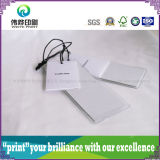 Étiquette de papier de coup d'impression de qualité (2 en 1)