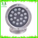 Indicatore luminoso subacqueo di controllo LED di RGB DMX dell'indicatore luminoso della piscina dell'indicatore luminoso 10W dell'acquario del LED