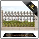 Comité van de Omheining van het Metaal van het aluminium het Stevige voor de Veiligheid van de Tuin met Uitstekende kwaliteit