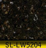 O tamanho o maior que lustra bancadas artificiais da veia do mármore da pedra de quartzo