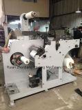 Machine de découpage rotatoire avec 2 arbres changeables