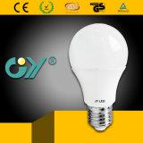 Iluminación aprobada del bulbo de RoHS SAA 3000k A60 8W LED del CE