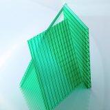 Hoja de gran alcance del policarbonato de la depresión del espesor del material de construcción 10m m