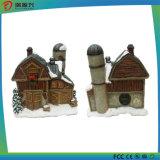 De Spreker van Bluetooth van het Kunstwerk van het Huis van de sneeuw met het Licht van de Nacht (geia-041)