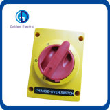 Orange Farbe Wechselstrom-Drehschalter-Wechselschalter 2poles 3poles 415V 690VAC