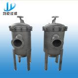 De vloeibare Ss 304/316L van de Verwijdering van het Sediment van de Filtratie Huisvesting van de Filter van de Zak