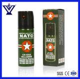 gaz lacrymogène d'autodéfense de la police 60ml/spray au poivre (SYSG-59)
