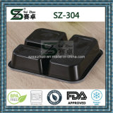 recipiente de armazenamento descartável do alimento de 3compartment PP (SZ-304)