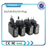 携帯電話のための熱い販売の携帯電話USBの壁の充電器4ポートUSBの壁の充電器