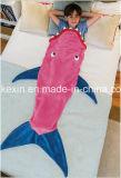 柔らかいボアファブリックは人魚毛布をからかう