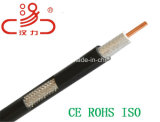Cable de audio 75 Ohm RG6 Cable coaxial