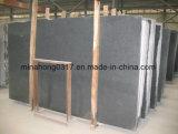 타오른 어두운 회색 G654 중국 임팔라 화강암 도와 또는 석판