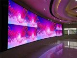 Pequeña visualización de LED fija de interior de la echada P1.904/P1.923 del pixel