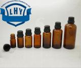5, 10, 15, 20, 30, 50, frasco de petróleo principal grande de Brown do chá 100ml/frasco petróleo da alta qualidade