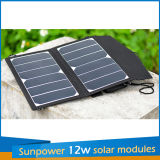 12W Foldable Solar Charger für The Handy Laptop