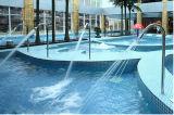 Jet de interior del BALNEARIO del acero inoxidable de la piscina de la carrocería del masaje de la Florida