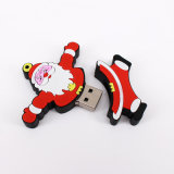 Mecanismo impulsor del flash del USB del día de la promoción del regalo de la Feliz Navidad (UL-P081)