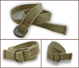 Cinghia cachi della tessitura del cotone per gli uomini